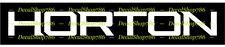 Horton Crossbows - Outdoor Sports/Hunting - Vinyl Die-Cut Peel N' Stick Decals