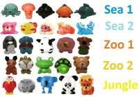 Super Rare Sqwishland Squishies Pencil Toppers-jungle Sea 1&2 Zoo 1&2 No Random
