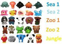 Super Rare Sqwishland Squishies Pencil Toppers-jungle Sea 1&2 Zoo 1&2 No Random