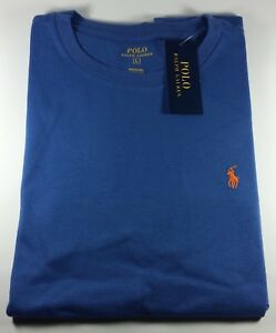 1a01abe7aa2f4 New Authentic Polo Ralph Lauren Cotton Jersey Crewneck T-Shirt 10 to ...