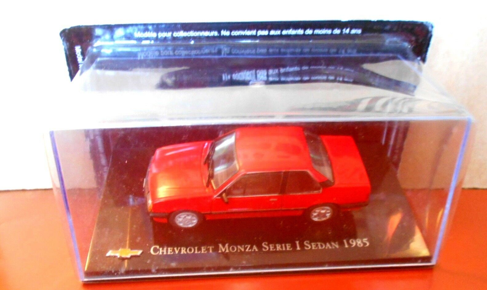 DIE CAST  CHEVROLET MONZA SERIE I I I SEDAN - 1985  SCALA 1 43 03e973