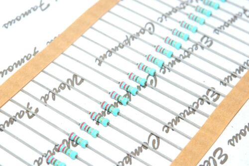 50pcs-PHILIPS SFR25 120K 0.4W 5/% Metal Film Resistor