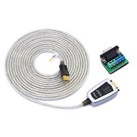 15ft Usb To Rs422 Rs485 Serial Converter Adapter Cable W/ Ftdi Chip Win 10 8 7