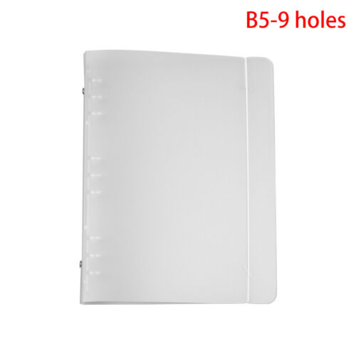 Stationery Plastic Shell File Folder Notebook Shell Ring Binder Notepad Cover