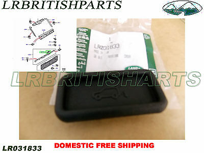GENUINE LAND ROVER REAR LOWER TAILGATE RELEASE RUBBER BUTTON RANGE ROVER 03-12 LR031833