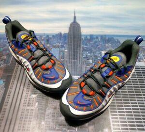 Details about Nike Air Max 98 Phoenix Suns GunsmokeTeam Orange Mens Size 7 640744 012 New
