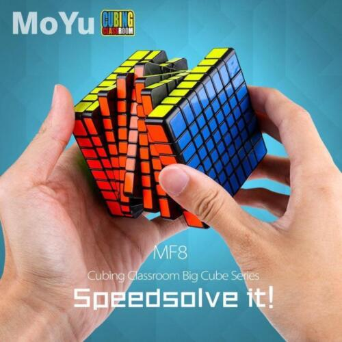 8x8x8 MoYu Speed Magic Cube Professional Ultra-Smooth Twist Puzzle Toys Gift