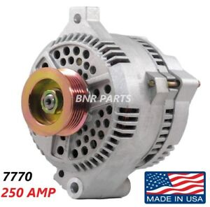Details about 250 AMP 7770 Alternator Ford Mercury High Output Performance  HD NEW USA