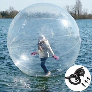 Zorb-2M-Water-Walking-Ballon-Inflatable-Plage-Ball-l-039-Eau-Rouleau-Aqua-Roule