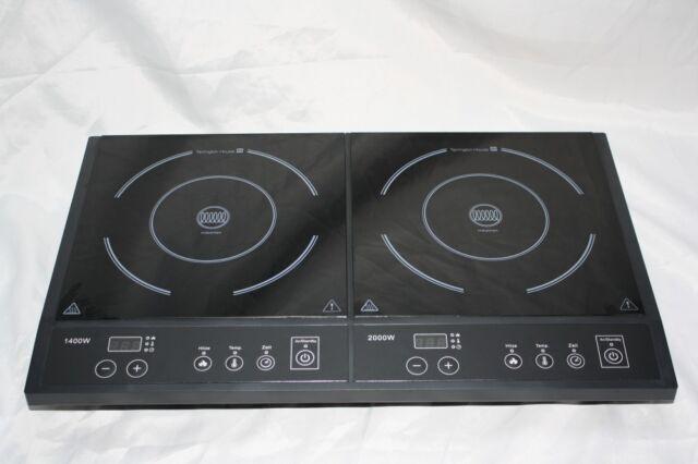 Tarrington House Dic3400 Doppel Induktionskochfeld Induktionplatte