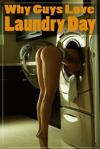 9c07cf5b282 WHY GUYS LOVE LAUNDRY DAY - SEXY BUTT POSTER 24x36 - HOT MODEL THONG ...