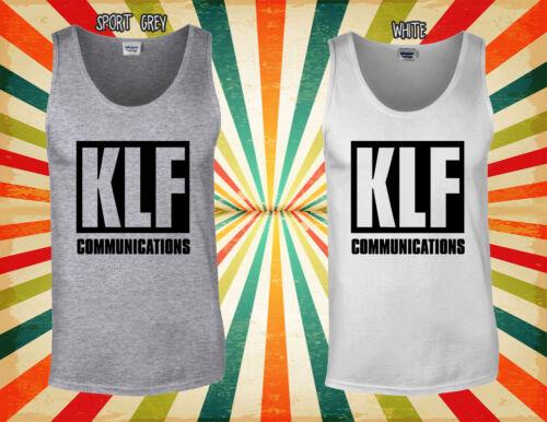 KLF Communications Academy Singer Men Women Vest Tank Top Unisex T Shirt 1844