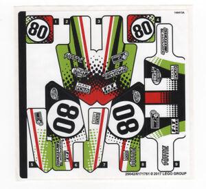 LEGO-Technik-Original-Aufkleber-Bogen-fuer-Set-42065-RC-Tracked-Racer-NEUWARE