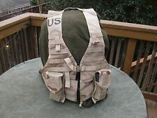 DCU MOLLE II Fighting Load Carrier w/ 2 Double Mag Pouches FLC VEST US Army