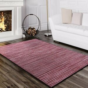 Dusty-rose-tapis-rose-fonce-paillettes-chambre-hall-plancher-tapis-petit-extra-large-new
