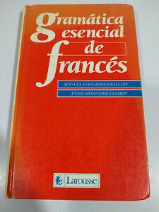 Gramatica Esencial de Frances Larousse 1987 - LIBRO Español - 3T