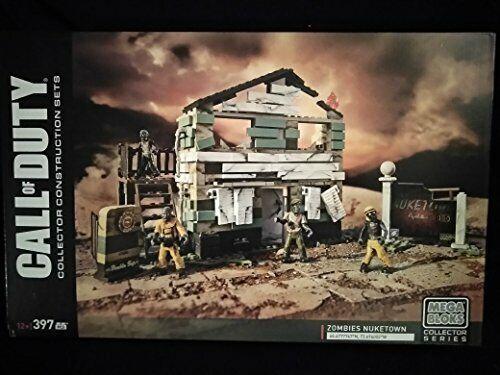 Mega Bloks Call Of Duty Collector Construction Sets Zombies Nuketown 397 PCS