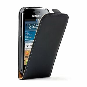 Ultra-Slim-Black-Leather-Case-cover-for-Samsung-Galaxy-Ace-3-GT-S7270-S7275-LTE