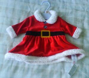 Baby Girls Christmas Santamrs Claus Dress Outfitfancy Dress Up