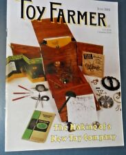 THE TOY FARMER MAGAZINE JUN 2001 THE MAKING OF A NEW TOY COMPANY 1/16 TRUCKS