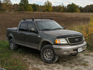 2002 Ford F150 Supercrew King Ranch