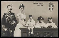 cartolina d'epoca SAVOIA-FAMIGLIA REALE ITALIANA