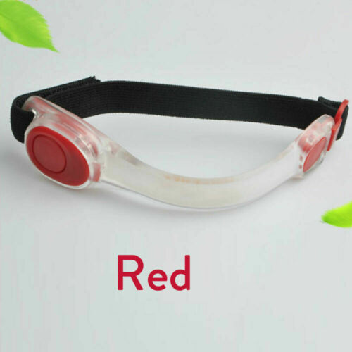LED Light Reflective Belt Strap Flashing Arm Band For Running Night Safety ED772
