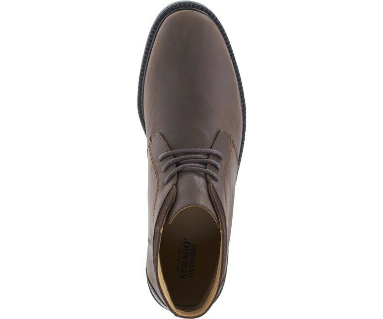 Sebago Turner Waterproof Chukka Waterproof Turner Boot B810251 Dark Braun Waterproof Leder NEW 6bd576