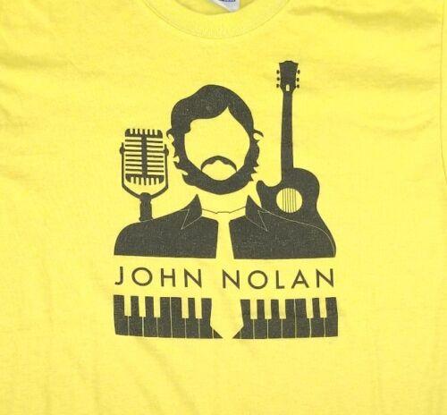 John Nolan Shirt Small Yellow Musician Taking Back