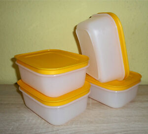 Tupperware-4x-Eis-Kristall-Set-Gefrierbehaelter-Gefrierset-G34-Gefrierdosen-Neu
