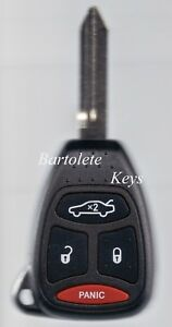 Replacement-Remote-Car-Key-Fob-For-2006-2007-Chrysler-300-Dodge-Charger-Magnum