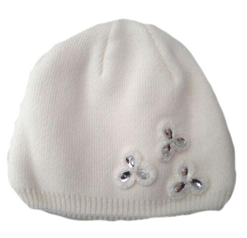 Damen Mütze Strickmütze Farbauswahl vers.Applikationen Wintermütze Damenmützen