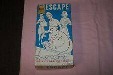 Vintage 1969 Game, Escape: Skill Ball Pacifier from Milton Bradley Hard to Find