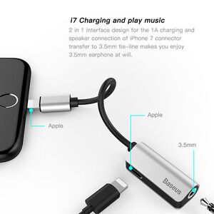 Baseus-Aux-Audio-Cable-Adapter-Earphone-2-in-1-Lightning-to-3-5mm-Jack-Headphone