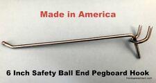 50 Pack 6 Inch All Metal Peg Hooks 18 To 14 Pegboard Slatwall Garage Kit