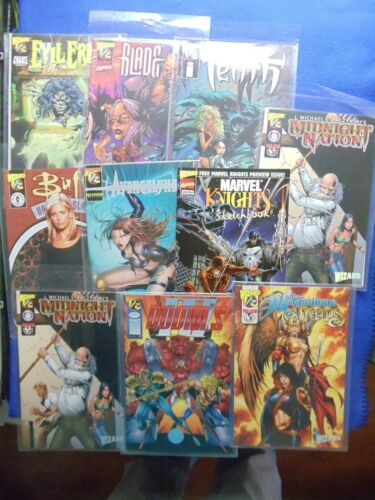 10 WIZARD 12 COMIC LOT #1 LAST LOT!