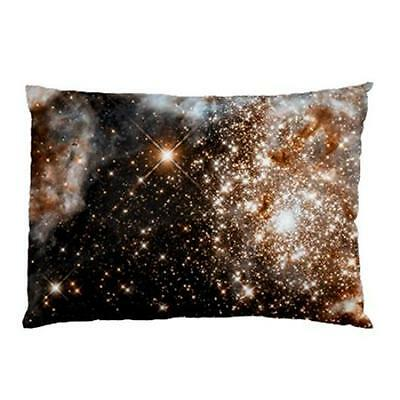 Doradus Nebula Galaxy Outer Space Universe Two Side Bed Pillow Case