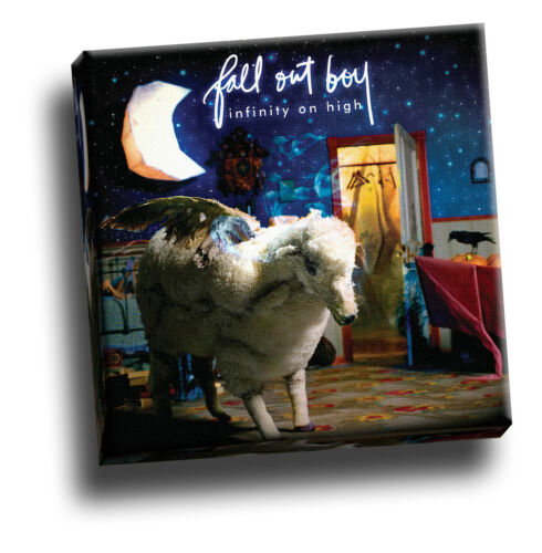 Fall Out Boy Infinity on High Giclee Canvas Album Cover Art Picture