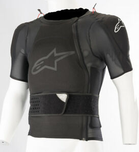 ALPINESTARS-SEQUENCE-PROTECTION-JACKET-SHORT-SLEEVE-BLACK-TG-L