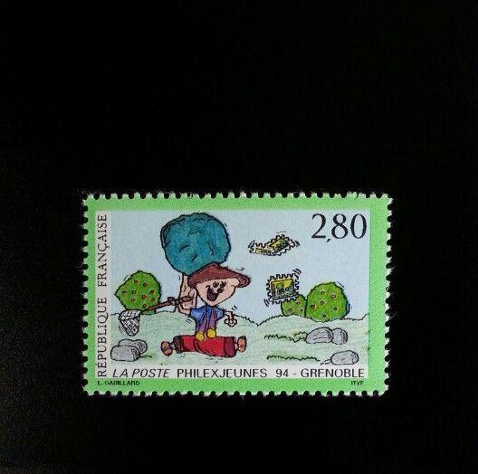 1994 France Philexjeunes '94, Grenoble Scott 2418 Mint