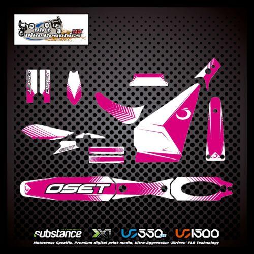 Oset 16 Kit Pink Decal Sticker Trials 748