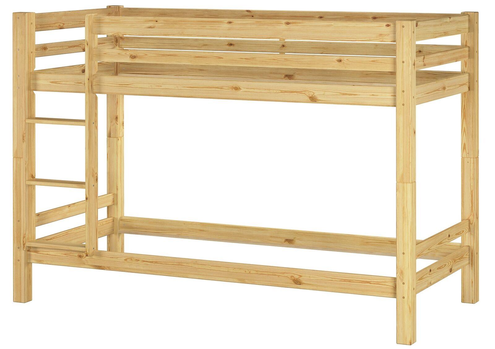 Enfants-Superposé Lits superposés pin massif 90x200 Structure de lit existante 60.09-09 oR