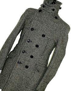 Bnwt-Herren-Burberry-Brit-London-Tweed-Weiber-Mantel-Coat-Jacket-40r-UK-50-EUR