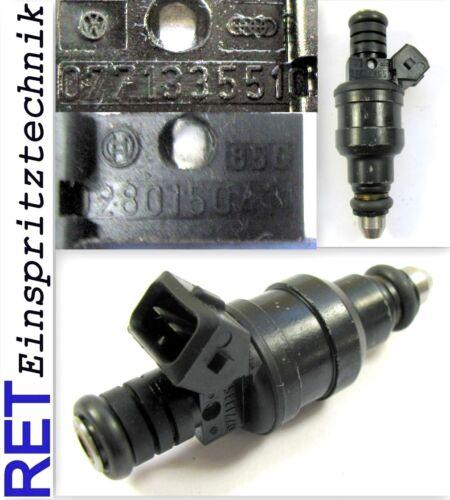 Einspritzdüse BOSCH 0280150411 AUDI V8 3,6 077133551C gereinigt /& geprüft