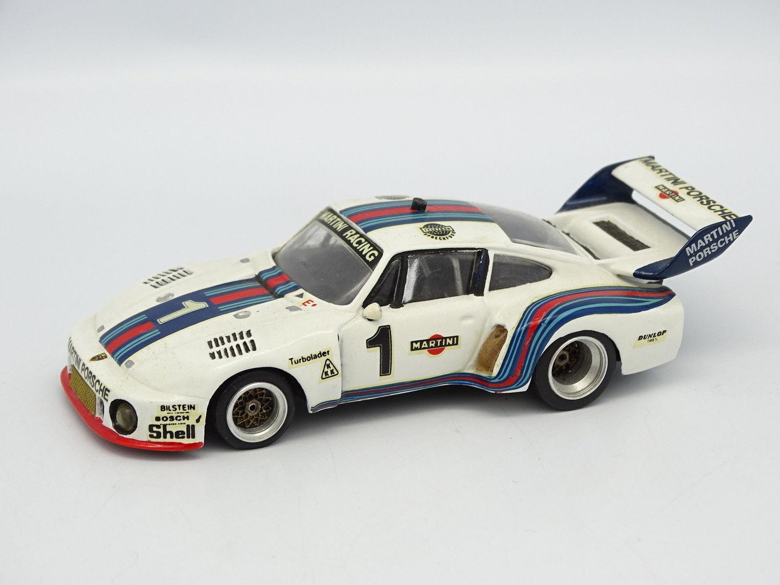 MRE Kit monté Métal SB 1 43 - Porsche 935 Martini Watkins Glen 1976 N°1