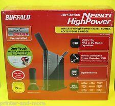 Buffalo WZR-HP-G300NH2 4-Port 1000 Mbps Funk Router (WZR-HP-G300NH2EU)
