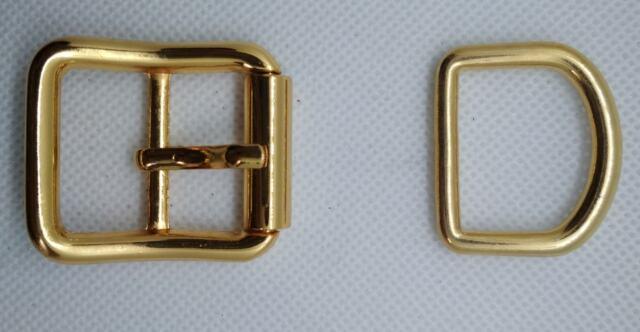 10 Hebilla De Rodillo doble doradas 2,5 cm correas collares perro bolso manualid
