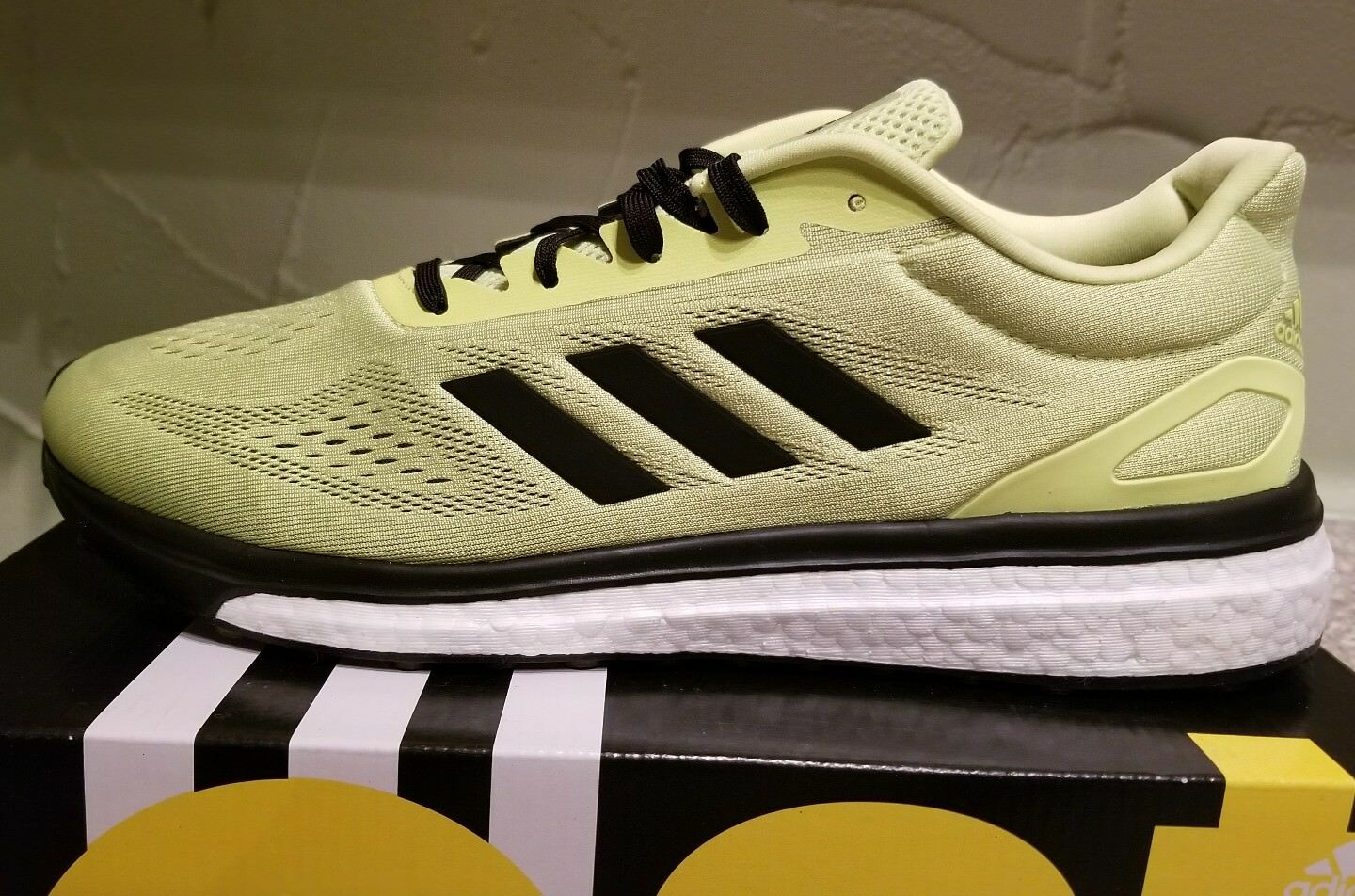 NEW ADIDAS MEN'S RESPONSE  BOOST LT SNEAKERS SHOES  SIZE 11.5