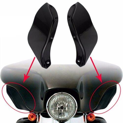 Seitlicher Spoiler für Harley Street Glide 06-13 schwarz