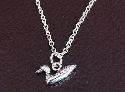 Duck Necklace Duck Jewelry Duck Pendant Duck Charm Duck Gift for Women